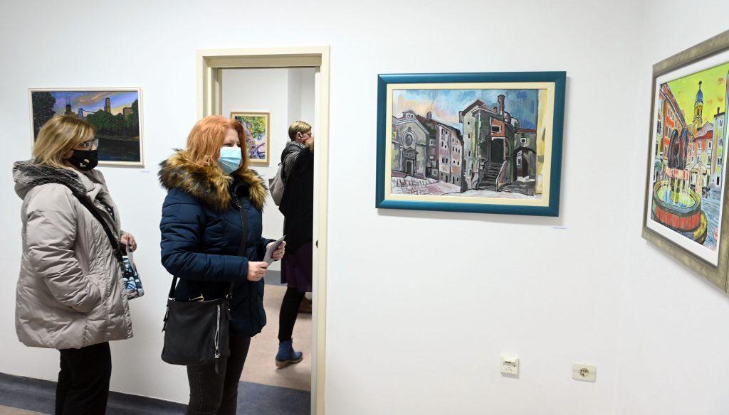 S otvorenja izložbe u Relativnoj galeriji / Snimio Vedran KARUZA