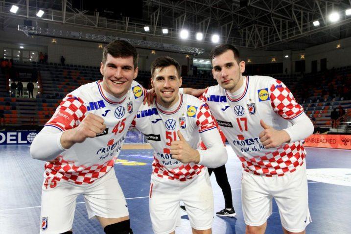 Halil Jaganjac, Ivan Martinović i Josip Šarac/Foto REUTERS