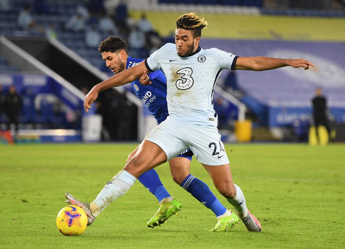 Ayoze Perez (Leicester City) i Reece James (Chelsea)/Foto REUTERS