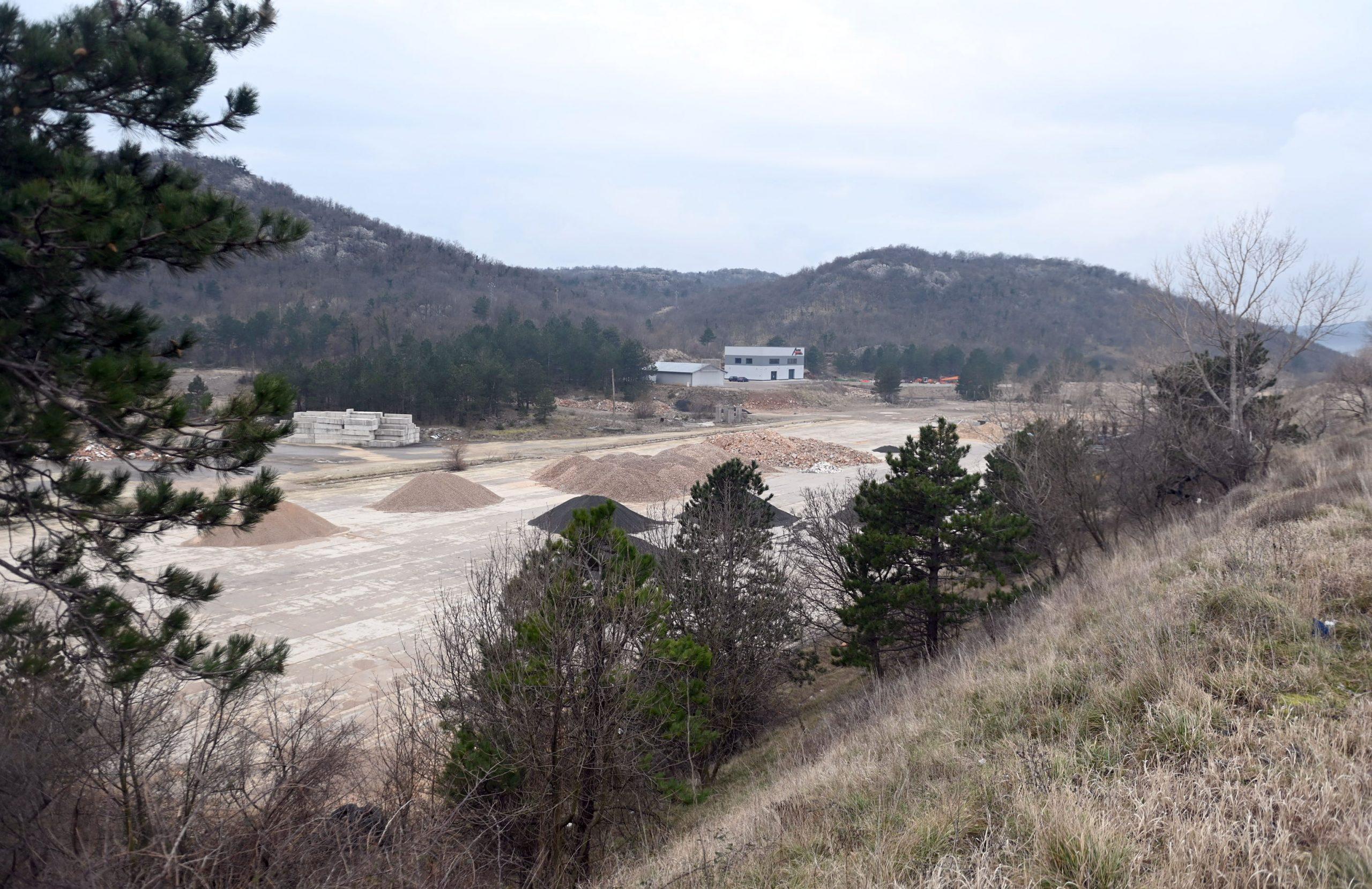 Izgradnja infrastrukture na gotovo 13.000 četvornih metara trebala bi potaknuti nove investicije u Poslovnoj zoni Soboli / Foto V. KARUZA