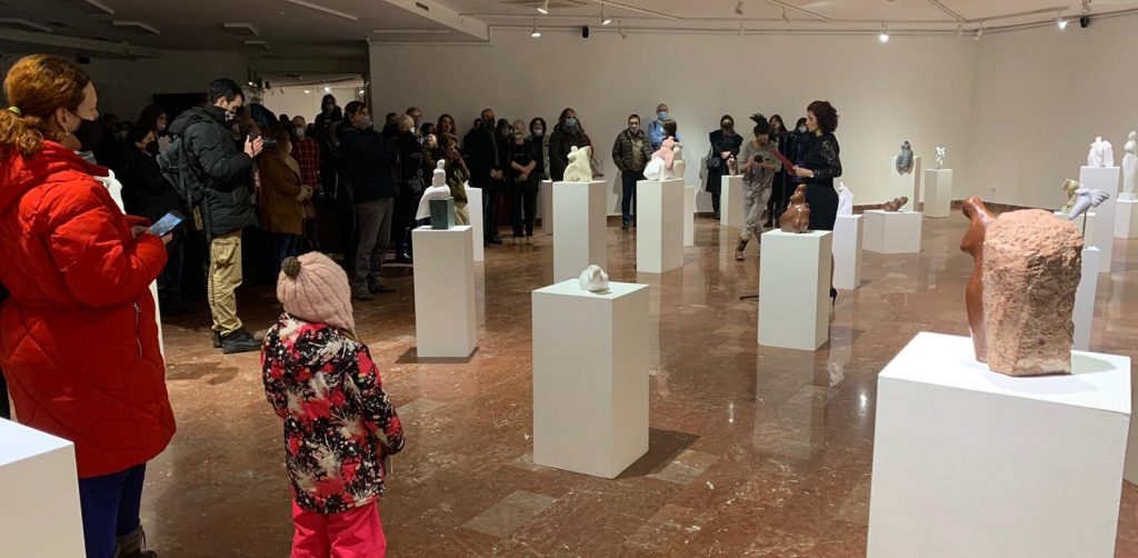 S otvorenja izložbe u Beogradu