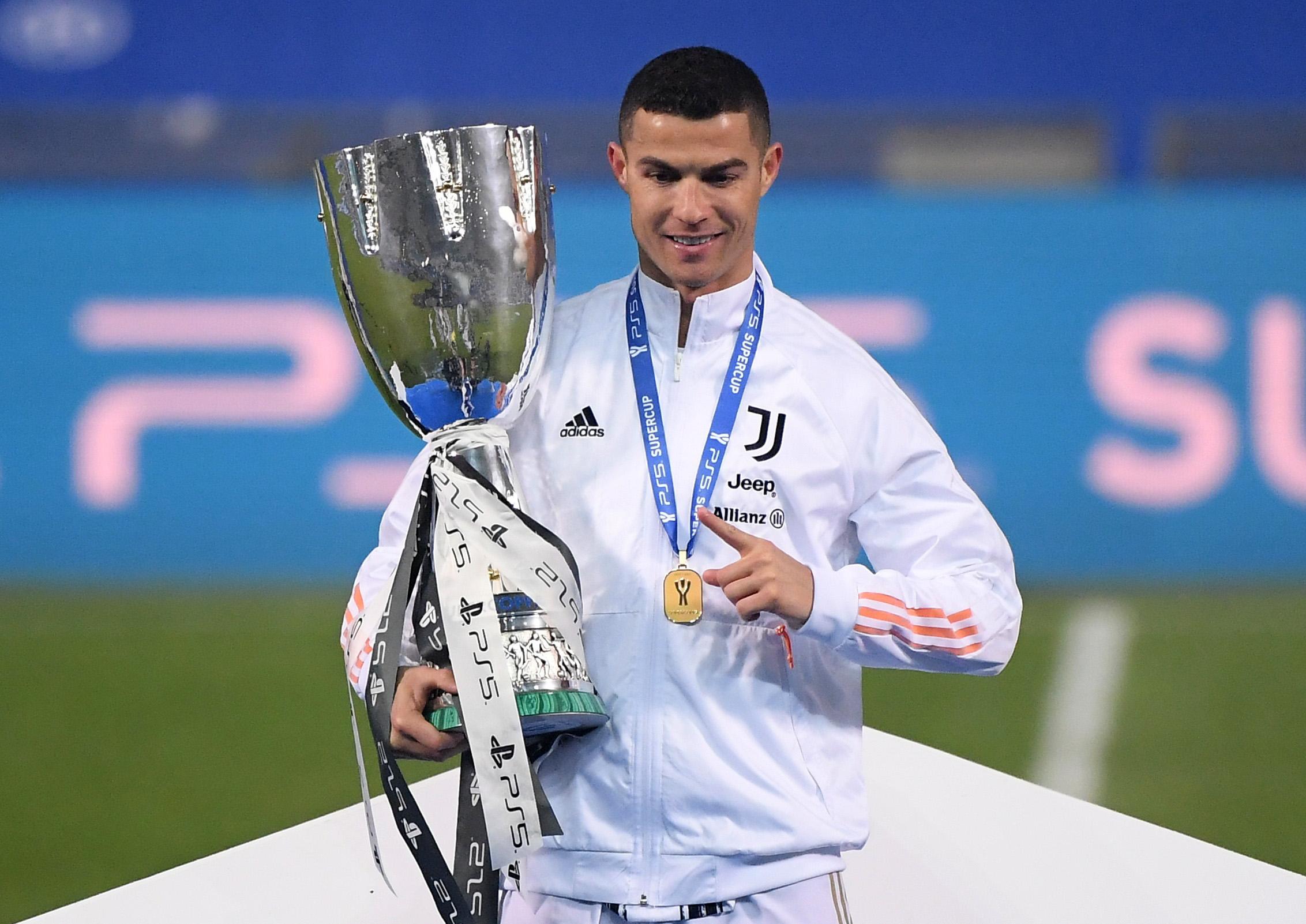 Cristiano Ronaldo osvojio je četvrti trofej s Juventusom/Foto REUTERS