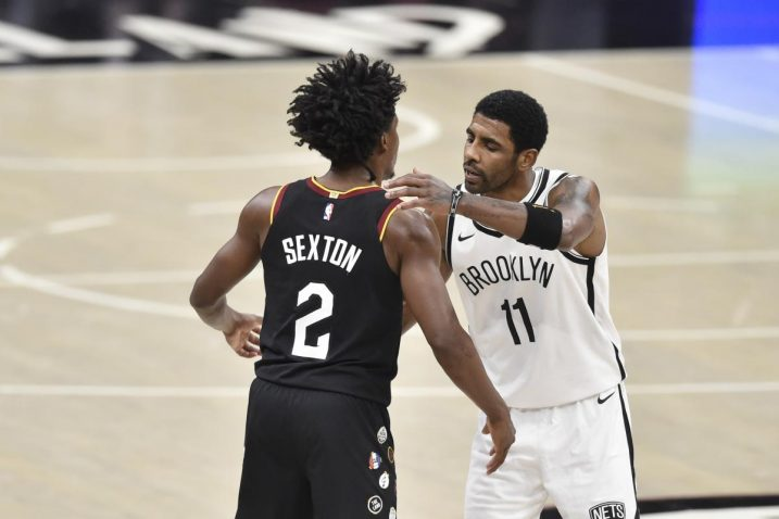 Collin Sexton i Kyrie Irving/Foto: REUTERS