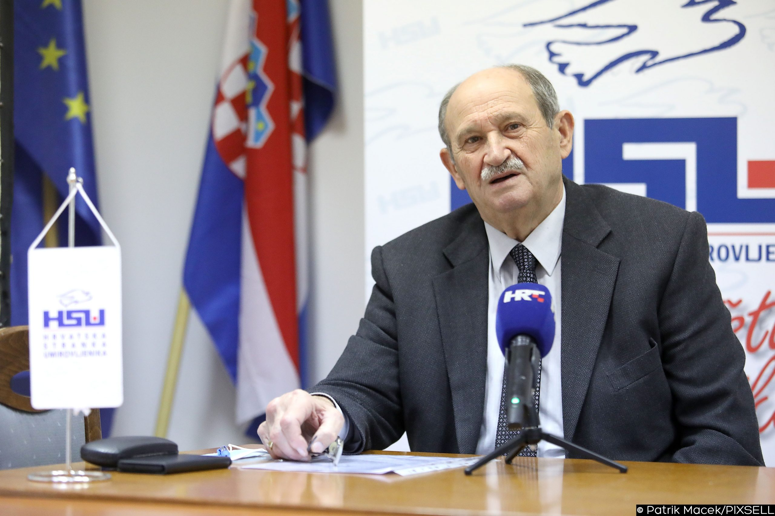 Veselko Gabričević / Foto PATRIK MACEK/PIXSELL