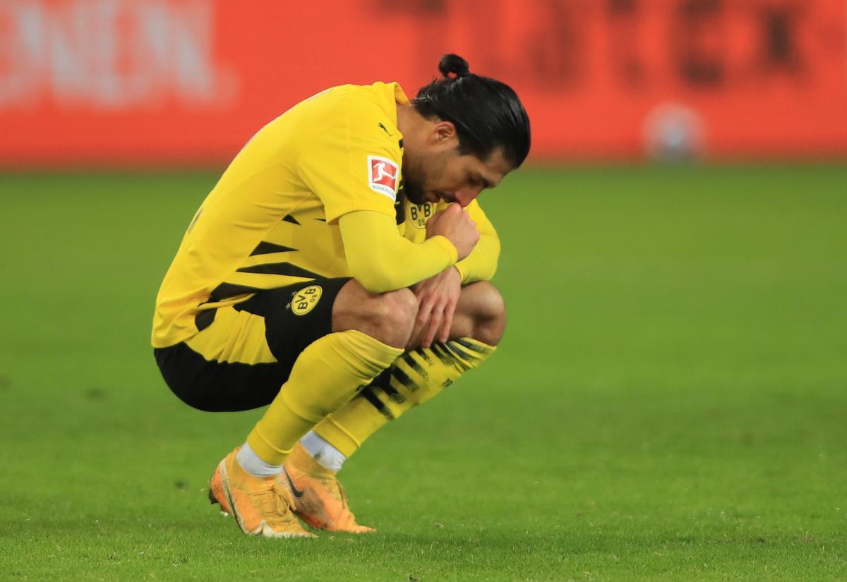 Emre Can nakon utakmice/Foto REUTERS