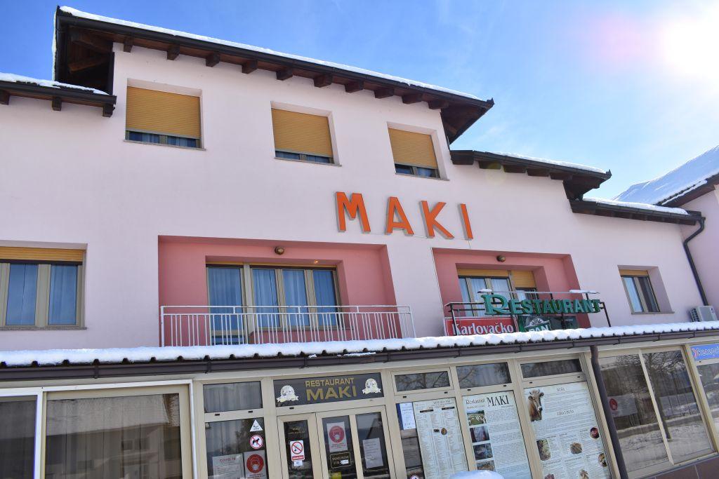 Sokolićev restoran Maki vrlo je popularan u Gospiću i široj okolici / Snimio M. SMOLČIĆ