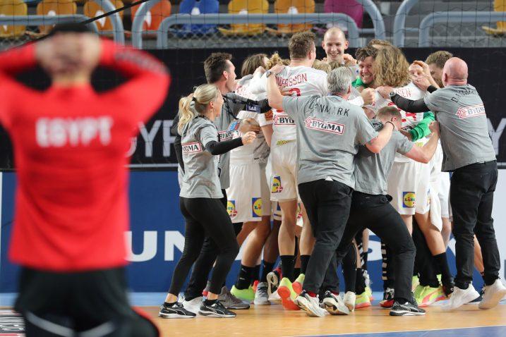 Slavlje Danaca/Foto REUTERS
