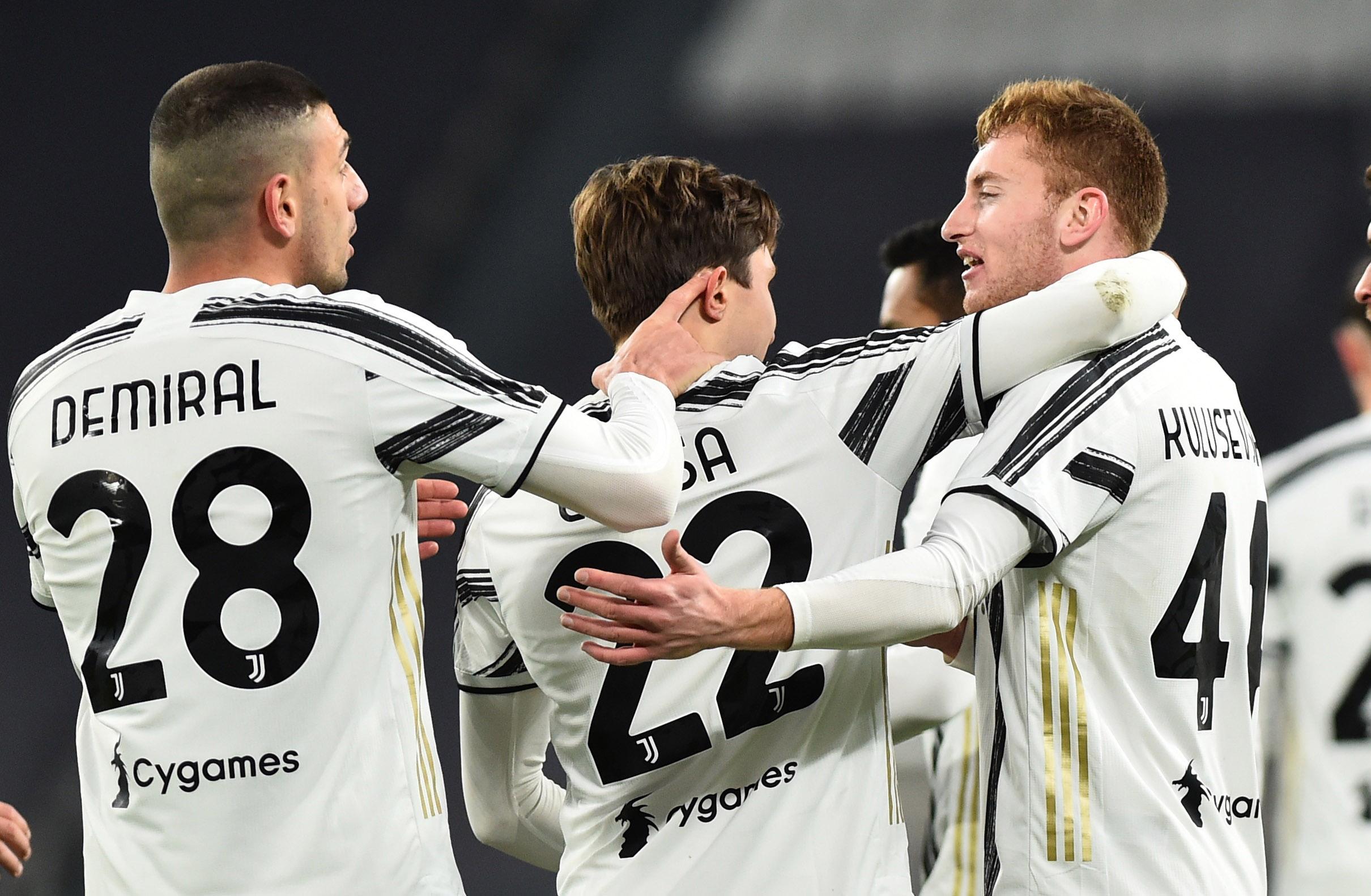 Radost igrača Juventusa/Foto REUTERS