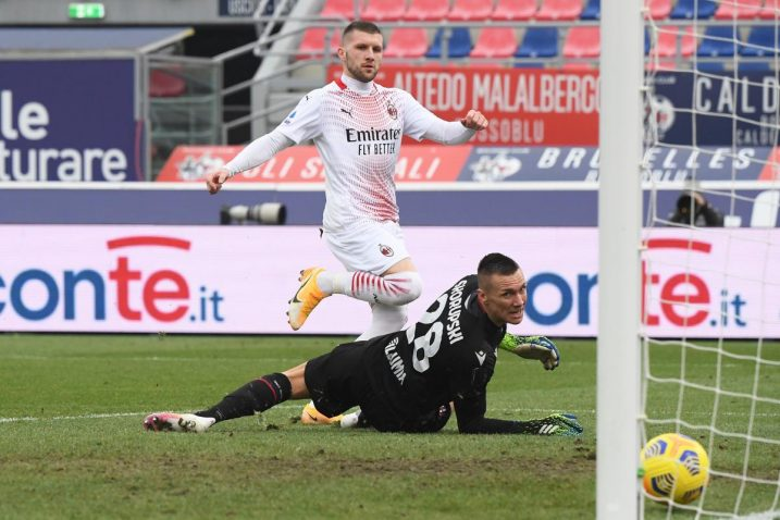 Ante Rebić zabija gol/Foto: REUTERS