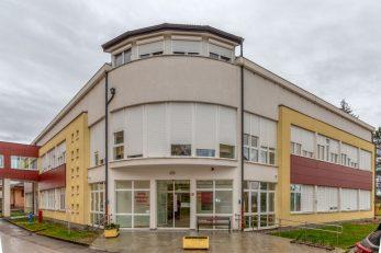 Zgrada u kojoj se nalazi gosićki Covid-odjel