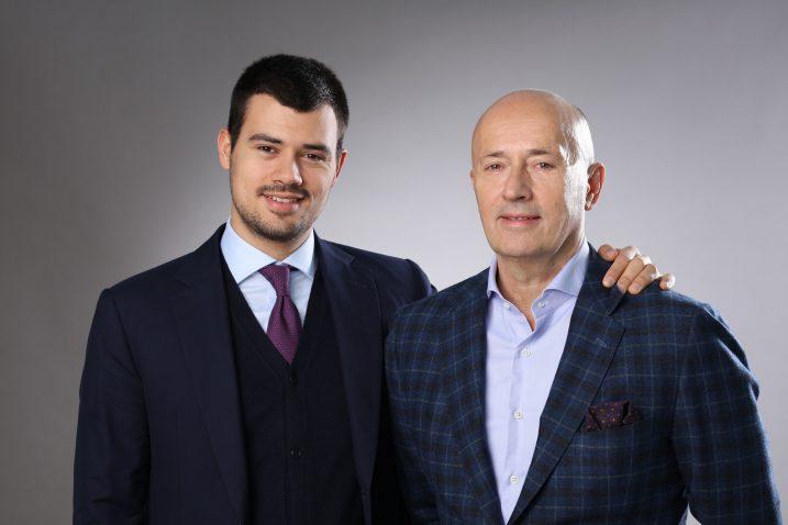 Miodrag Kostić, predsjednik MK Group i Aleksandar Kostić, potpredsjednik MK Group