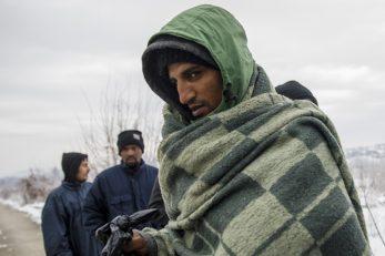Migranti kod Velike Kladuše / Foto Armin Durgut/PIXSELL