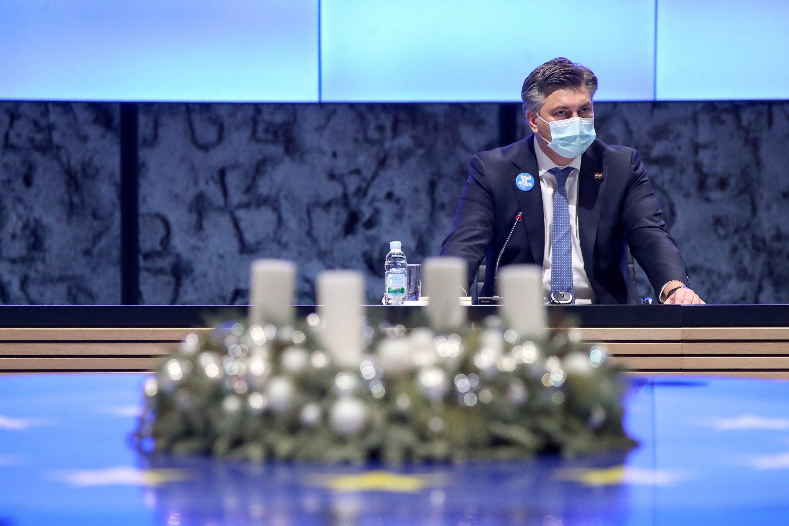 Predsjednik Vlade Andrej Plenkovic Photo: Igor Kralj/PIXSELL