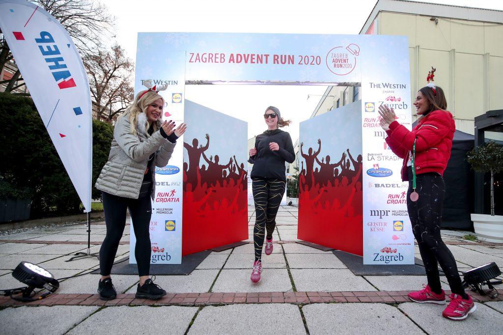 Zagreb advent run / Foto Igor Kralj/PIXSELL