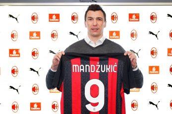 Mario Mandžukić/Foto: acmilan.com