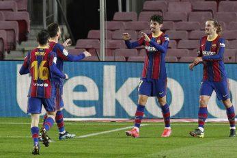 Igrači Barcelone/Foto REUTERS