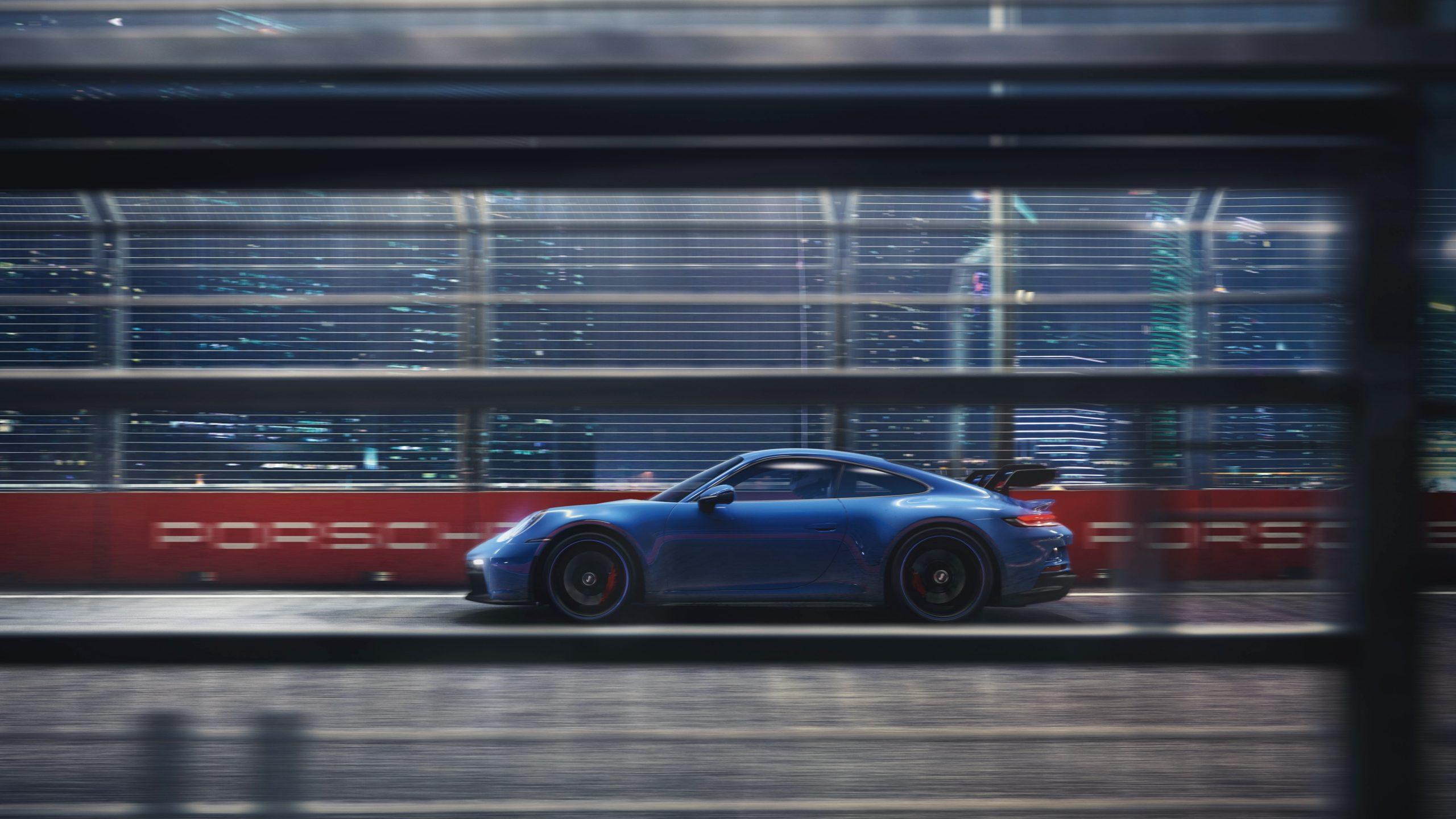 Fantastični doživljaj vožnje na četiri kotača - Porsche 911 GT3 / Foto Porsche