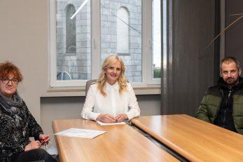 Đana Pahor, Eni Šebalj i Riccardo Staraj / Foto Luigi
