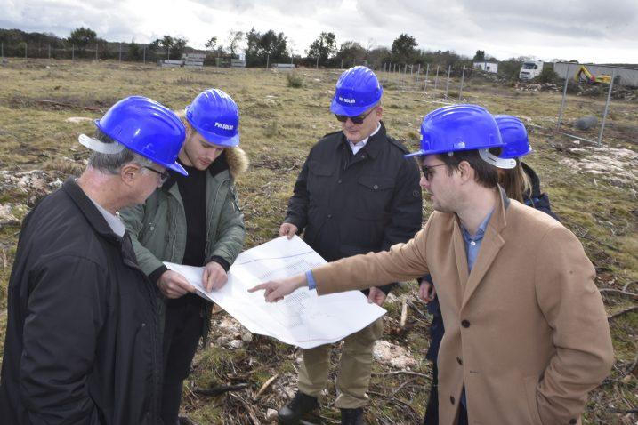 Predstavljanje projekta Juliju Domcu, predsjednikovu savjetniku za energetiku i klimu / Foto W. SALKOVIĆ