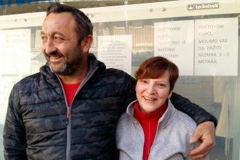 Supružnici Danijel i Silvija Strugar / Foto D. PRPIĆ