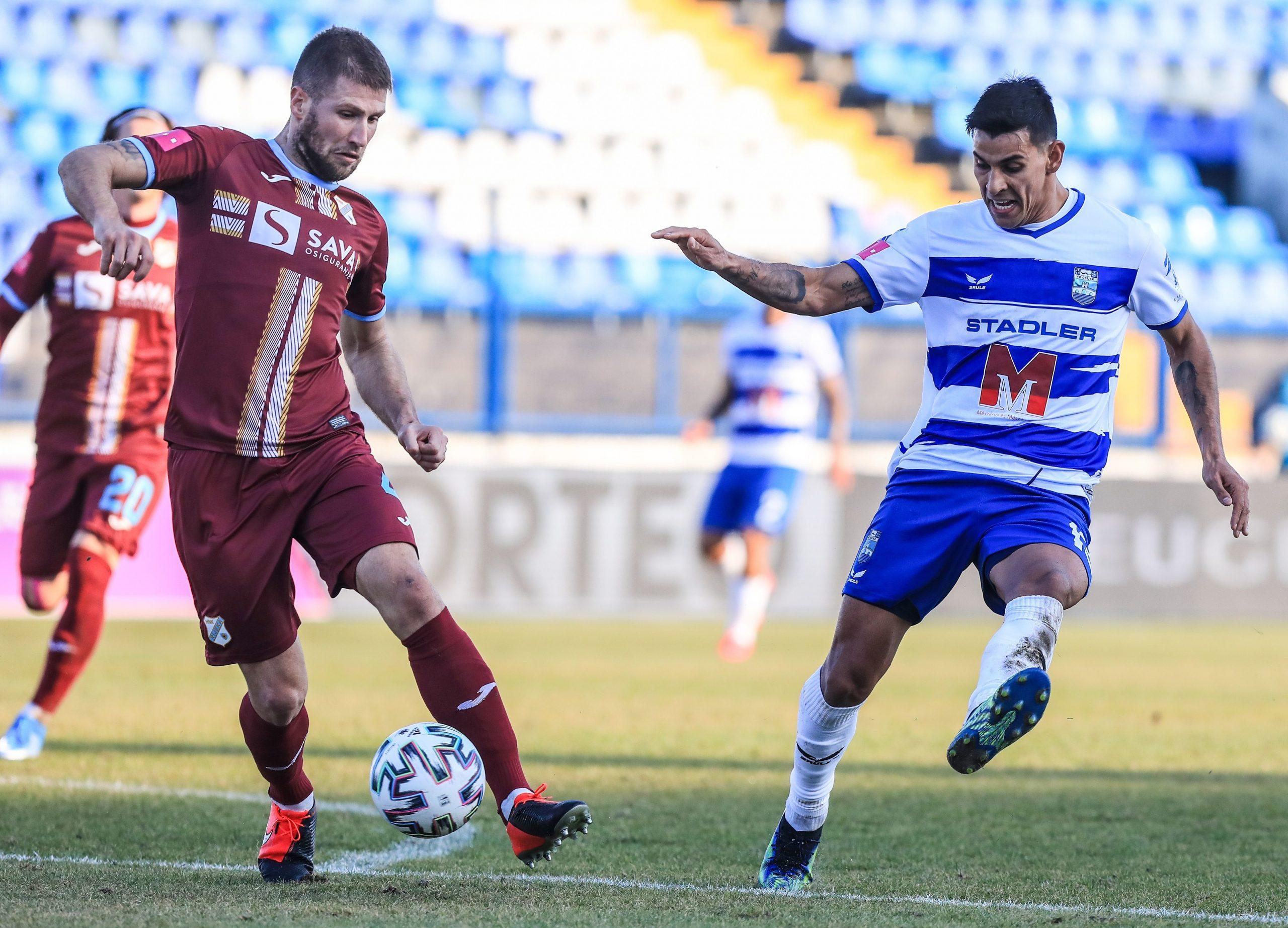 Nino Galović tijekom susreta u Osijeku/Foto PIXSELL