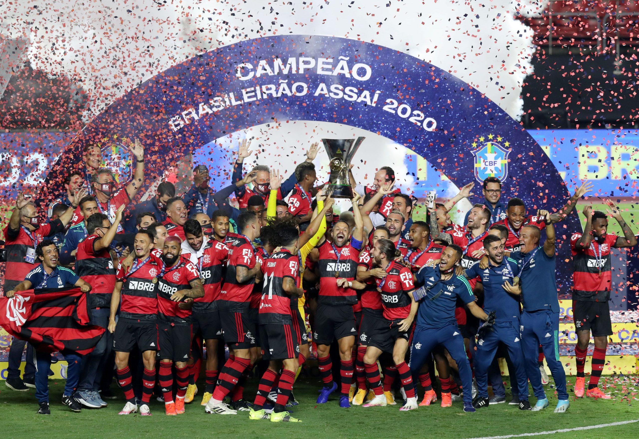Nogometaši Flamenga osvojili su osmi naslov u povijesti kluba/Foto REUTERS