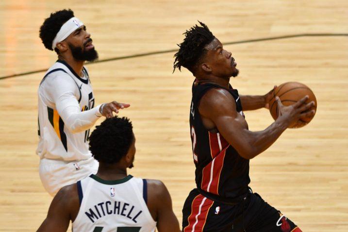 Jimmy Butler bježi obrani Jazza/Foto: REUTERS