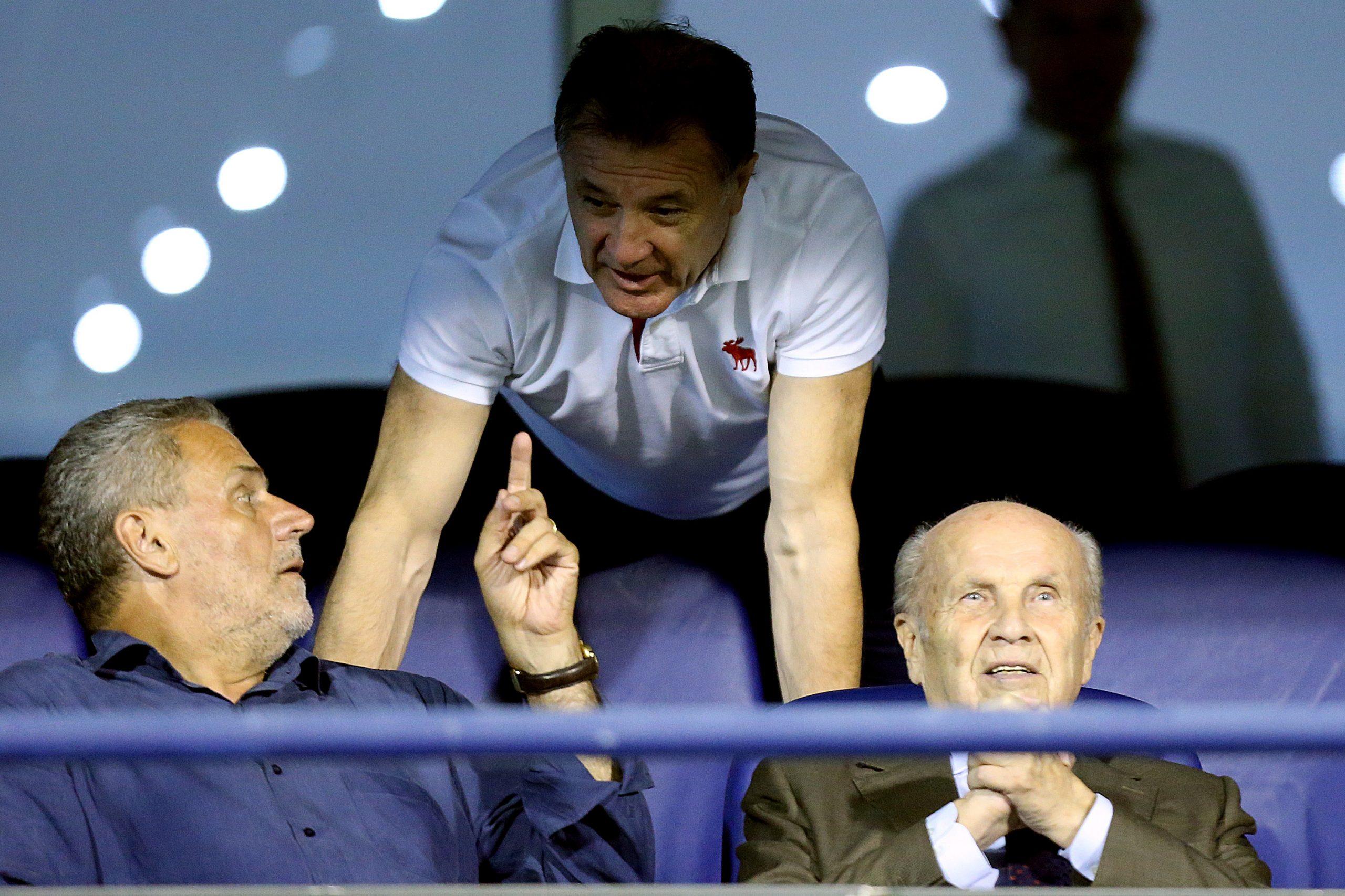 Milan Bandić, Zdravko Mamić i Mirko Barišić/Foto PIXSELL