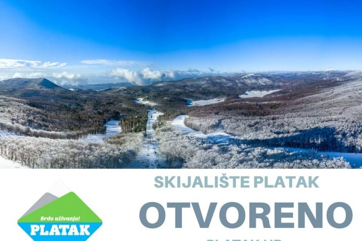 Skijalište Platak još uvijek radi