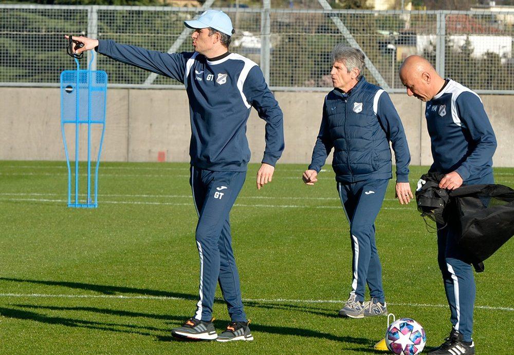 Goran Tomić na treningu/Foto: Facebook HNK Rijeka