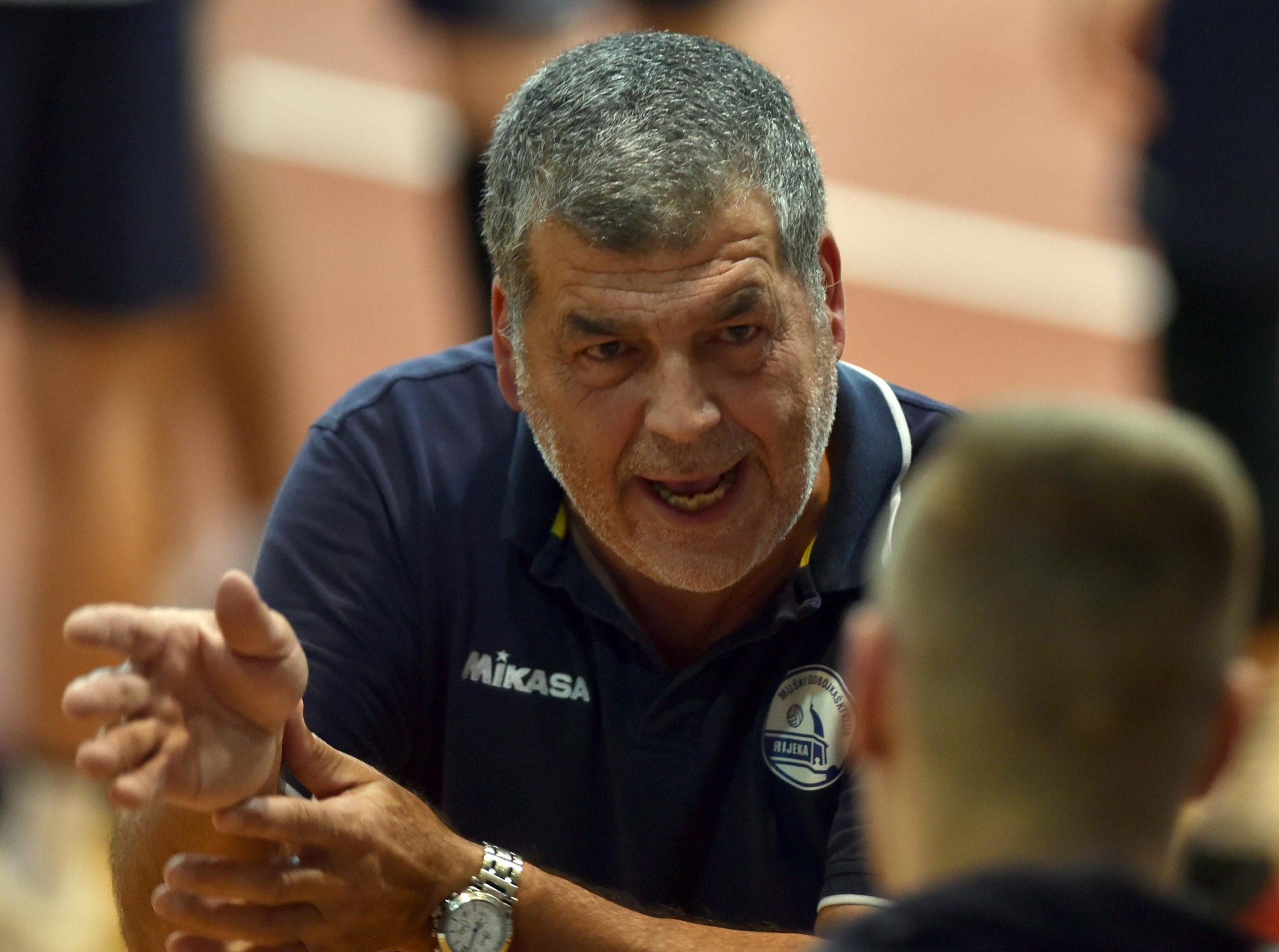 Velimir Liverić, trener Riječana/Foto Arhiva NL