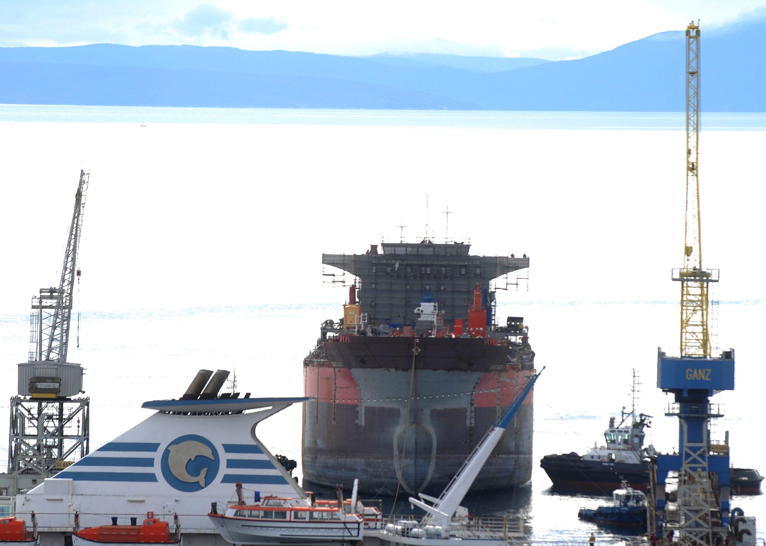 """Unatoč smanjenom obimu posla, ostvareni odlični rezultati - Brodogradilište """"Viktor Lenac"""" / Arhiva NL"""