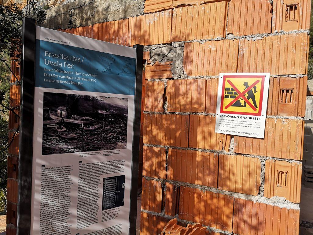 Inspekcija zatvorila gradilište u uvali Peć / Foto MA. KIRIGIN