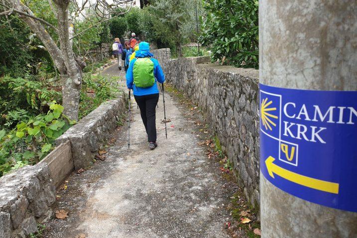 Camino Krk je do sad na Krk privukao mnoge hodočasnike, ali i pobornike šetnje prirodom / Foto TZ Krk
