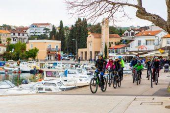 Organizirane su edukacije za buduće nositelje cikloturističke i outdoor ponude otoka Krka / Foto TZO KRK