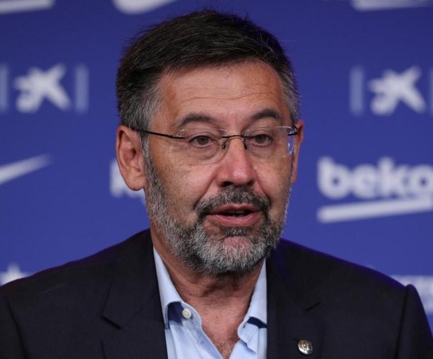 Donedavni predsjednik kluba Josep Maria Bartomeu nalazi se na uvjetnoj slobodi/Foto REUTERS
