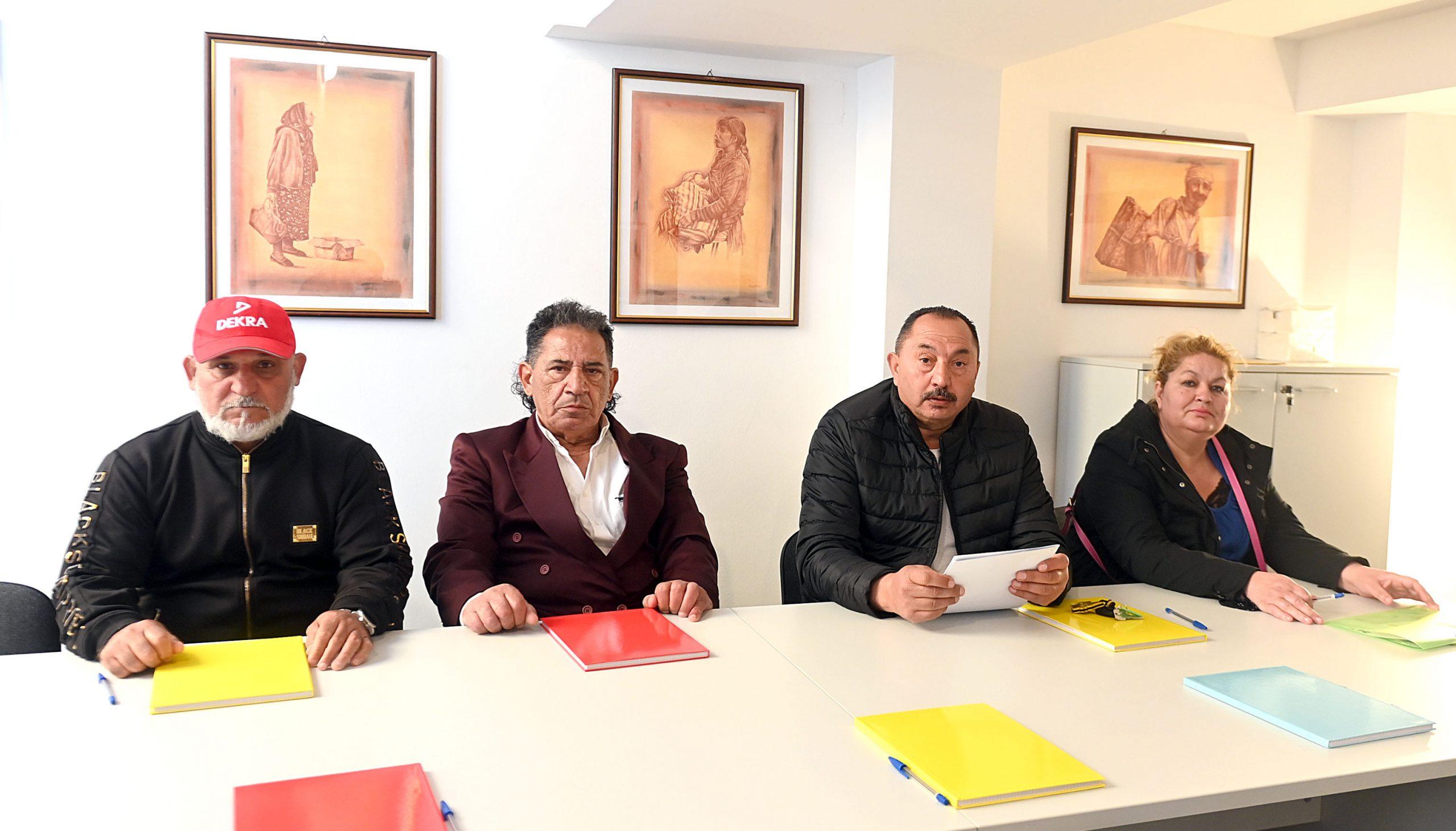 Jusufi Sami, Neziri Đerdet, Surija Mehmeti i Ceziban Mehmeti / Foto V. KARUZA