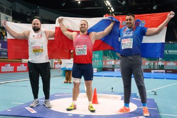 Michal Haratyk, Tomaš Stanek i Filip Mihaljević/Foto REUTERS