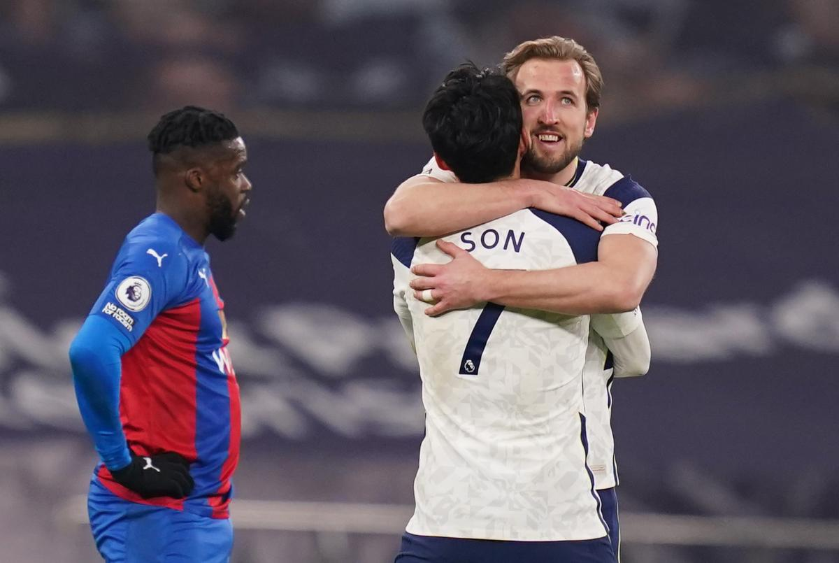 Harry Kane i Son Heung-Min/Foto: REUTERS