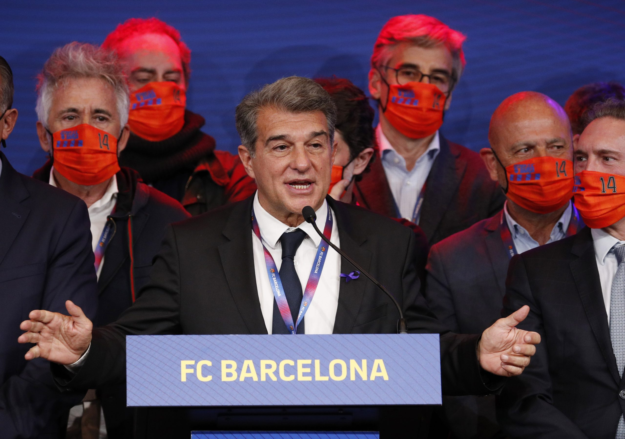 Joan Laporta/Foto REUTERS