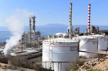 Rafinerija u Urinju / Foto Marko Gracin