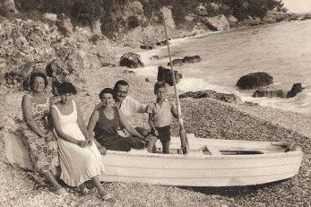 : Iz knjige - u čamcu Eva, Danko i Rajko, 1954.