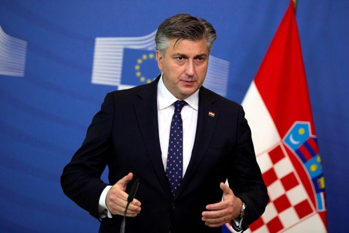 Andrej Plenković/Foto REUTERS