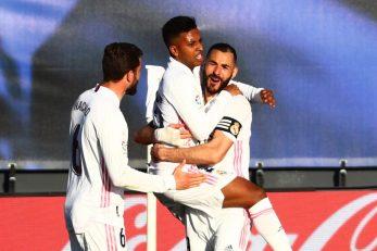 Karim Benzema slavi sa suigračima/Foto: REUTERS