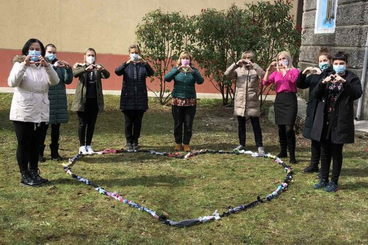 Lanac različitosti Škole za život Učeničkog doma Podmurvice