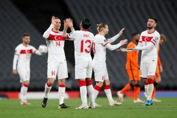Slavlje turskih nogometaša/Foto REUTERS