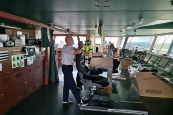 eliki kontejnerski brodovi vrlo su osjetljivi na udare vjetra zbog goleme bočne površine - Mariano Sergo