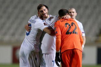 Nogometaši Cipra/Foto REUTERS