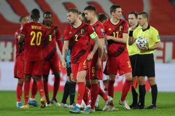 Nogometaši Belgije/Foto REUTERS