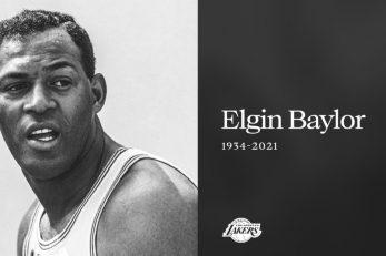Elgin Baylor/Foto: Twitter LA Lakersa
